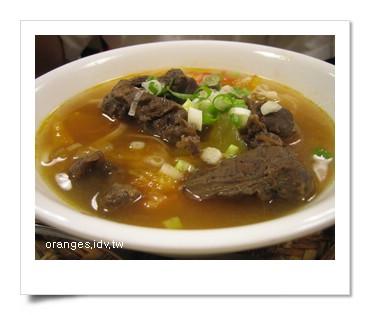 蕃茄原汁牛肉陽春麵