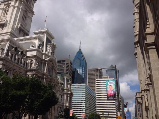 Downtown Philadelphia!