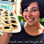 Grain free jam dot cookies