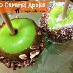Paleo caramel apples