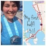 I'm a half marathoner!