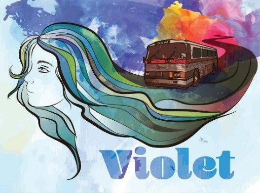5042-Violet Poster Image webpage
