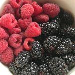 Blackberry lemon muffins