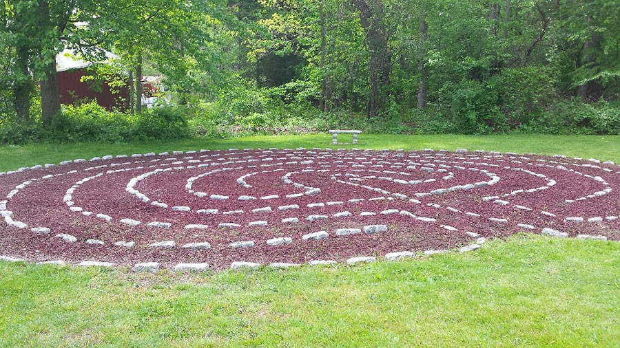 Walk the Labyrinth at the Church of the Good Shepherd