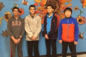 Amity Middle School Orange Math Team Competing In The 2017 New Haven Chapter MATHCOUNTS Competition