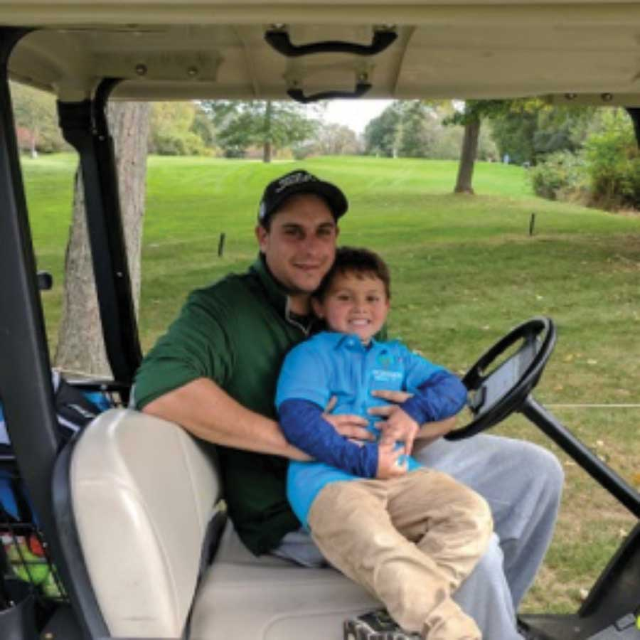 """Four Year Old """"Tees Off for Turkeys"""""""