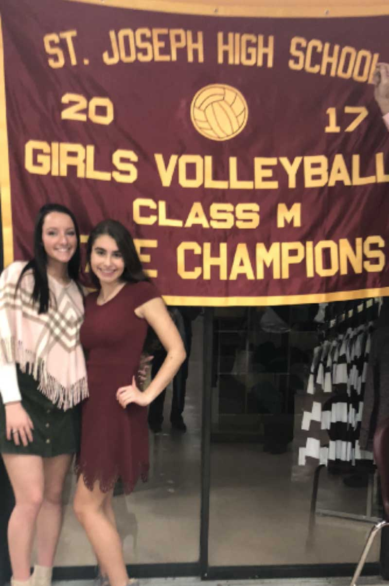 Locals Help Win Volleyball Championship