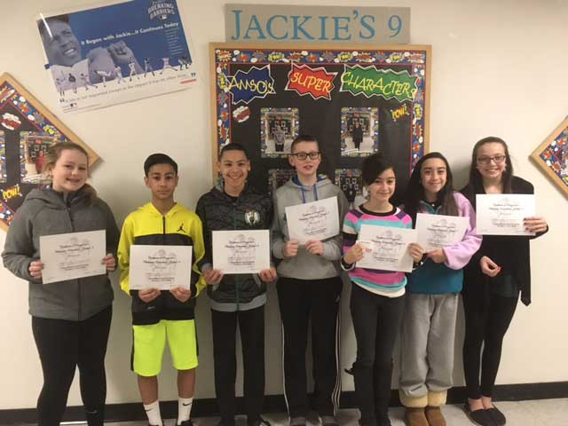 Amity Middle School Orange Students Recognized for Their Excellent Character