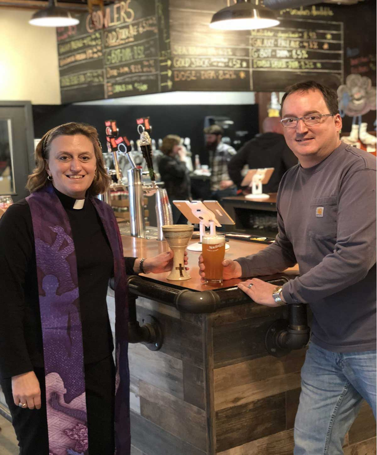 'Craft Church' Coming to New England Brewing Company