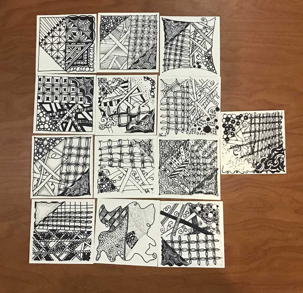 Zentangle At Amity Regional High School