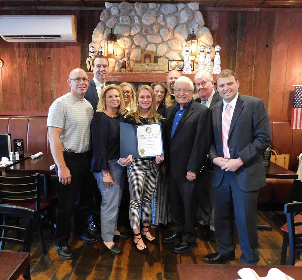 Amity High School Senior Esposito Honored as Student of the Month