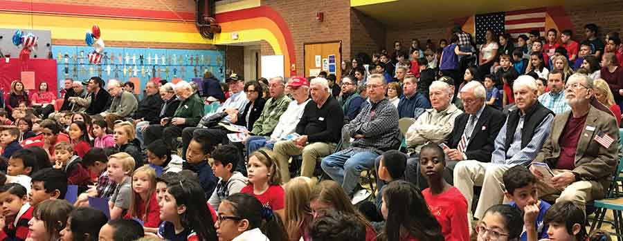 Race Brook School Honors Veterans
