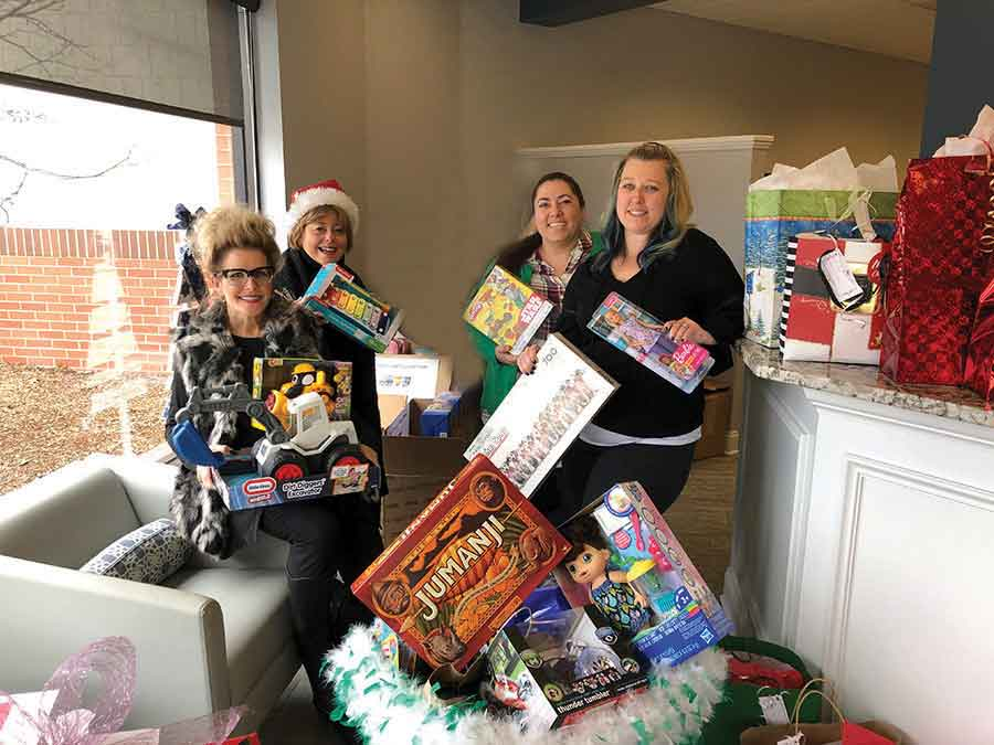 Coldwell Banker in Orange Collects Toys for the Yale Toy Closet