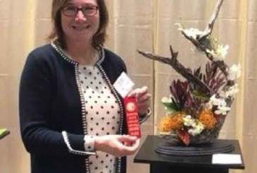 Garden Club Members Place At Flower Show