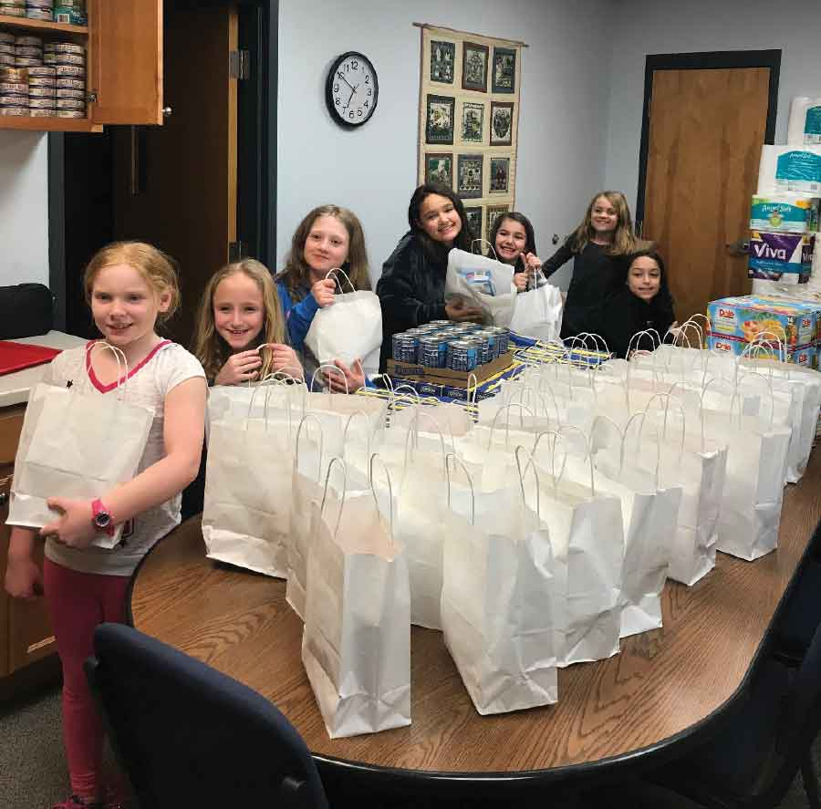 Girl Scout Troop Donation