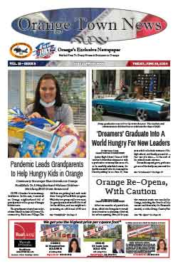 orange town news cover june 26, 2020