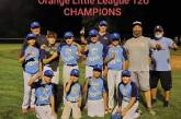 2020 Orange Little League Majors Division Champions KC Royals
