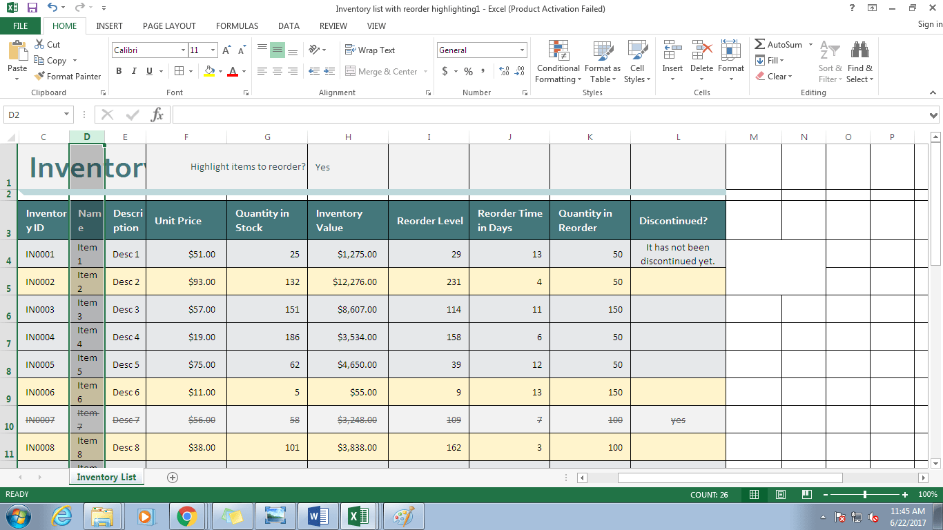 Working With Worksheets In Microsoft Excel
