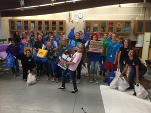Pasteur Food Drive Collection