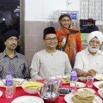 Ahli Parlimen berbuka puasa di Kuil Sikh, Dr Mujahid kata takde masalah