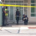 Ketua Polis Besut ditetak sehingga putus jari oleh jiran sendiri