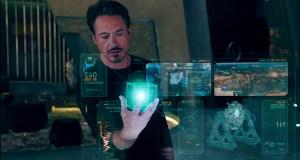Ironman Hologram Maju Masa Depan