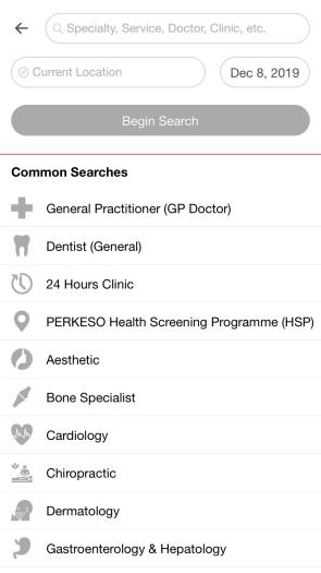 Bookdoc Tangkaplayar Klinik Doktor Malaysia