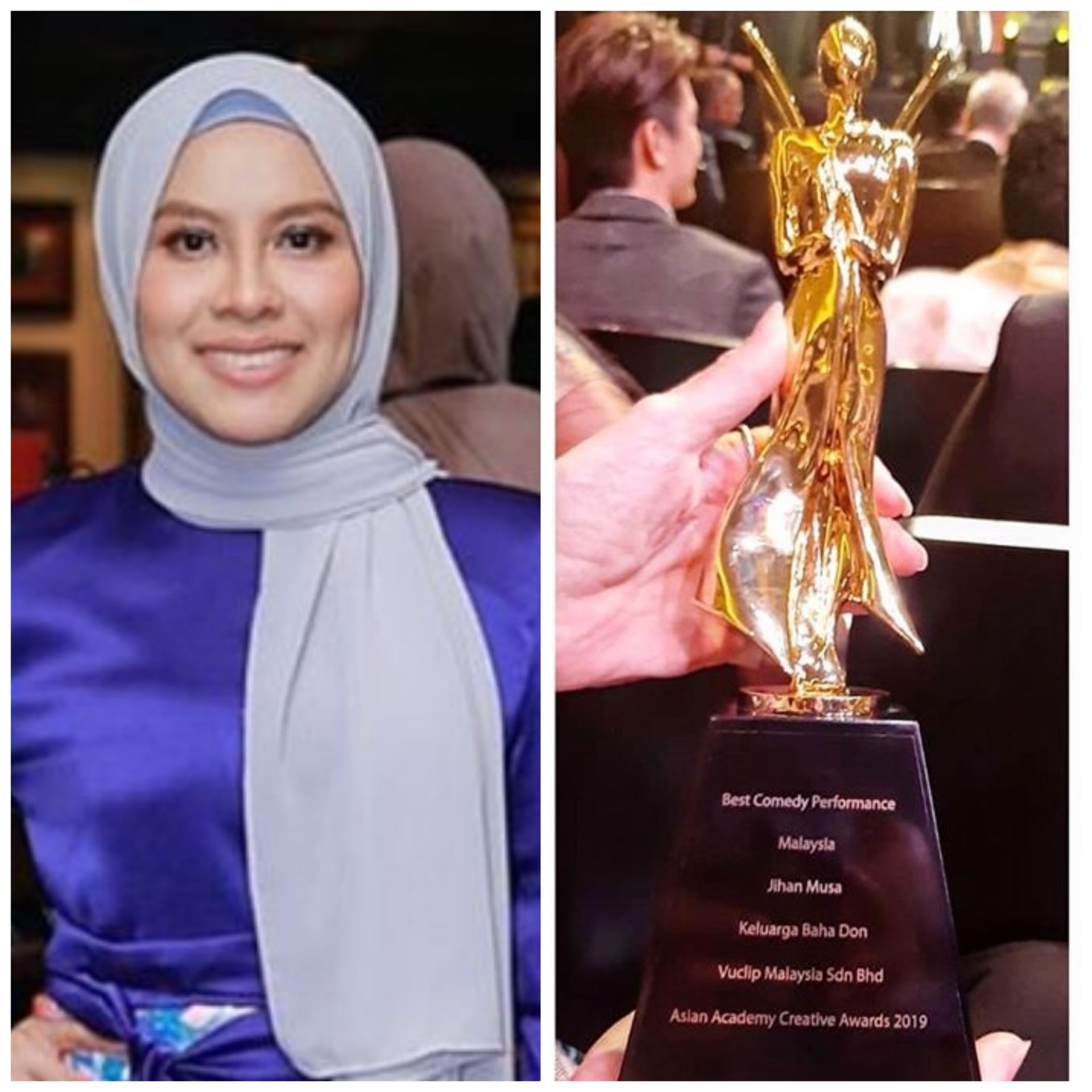Jihan Komedi Asian Creative Award 2019