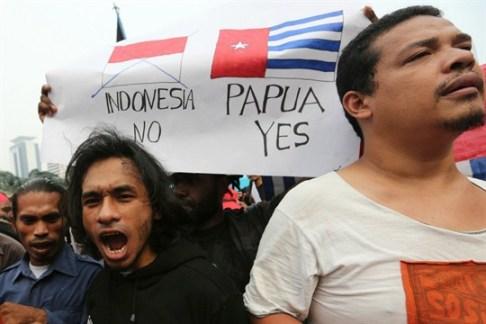 Papua Protes Indonesia Keluar