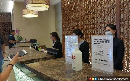 Hotel Mah Kaunter Covid
