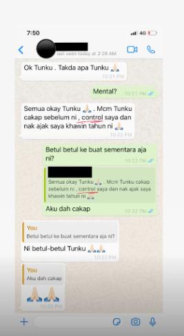 Tangkap Layar Rashid Safawi Syifa Melvin Tengku Mahkota Johor