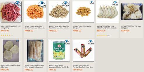Pilihan Mican Foods