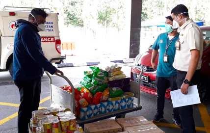 Covid Malaysia Bantuan Makanan