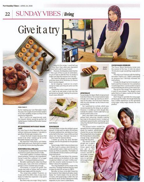 New Sunday Times Nazatul Azman Buat Orang Lapo