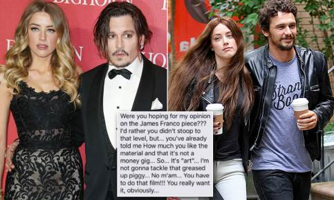 James Franco Text Depp