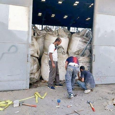 Beirut Pelabuhan Amonium Nitrat