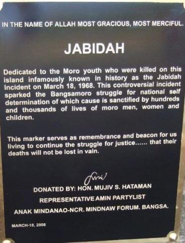Pembunuhan Jabidah