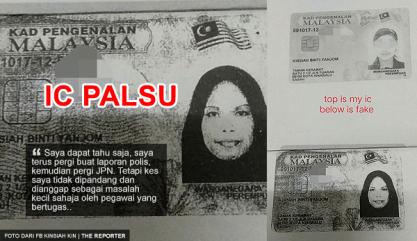 Ic Palsu Sabah