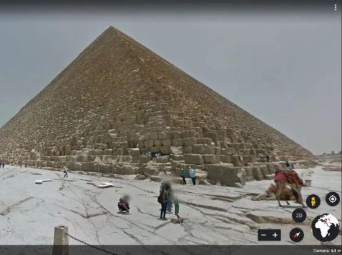 Google Map Earth Pyramid