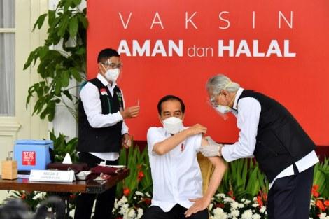 Vaksin Indonesia Jokowi