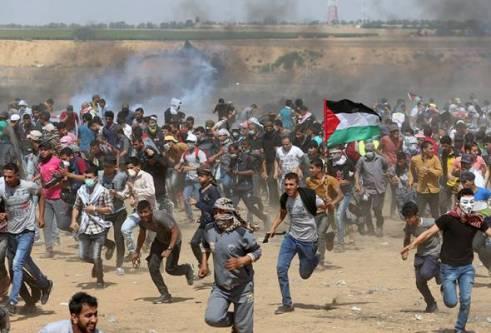 gaza israel palestin serangan