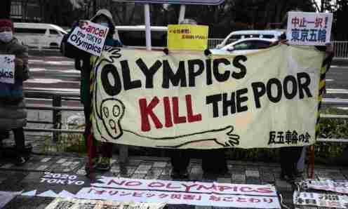 olimpik protes tokyo jepun