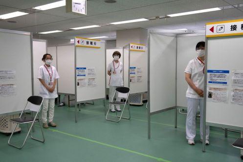 vaccine jepun olimpik