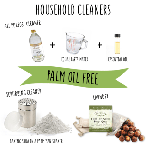 palm oil free zero waste household cleaner say no to palm oil orangutan foundation international
