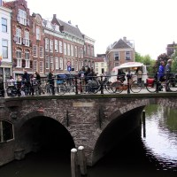 Tourists in Utrecht