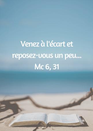 Vacances avec le Seigneur