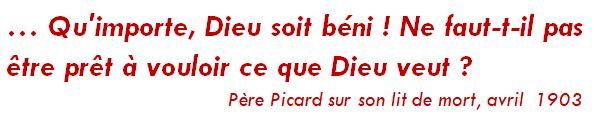 Pensées du Père Picard