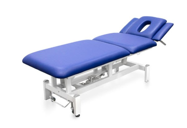 Three Sections Electric Treatment Table - Height Adjustable Armrests 2