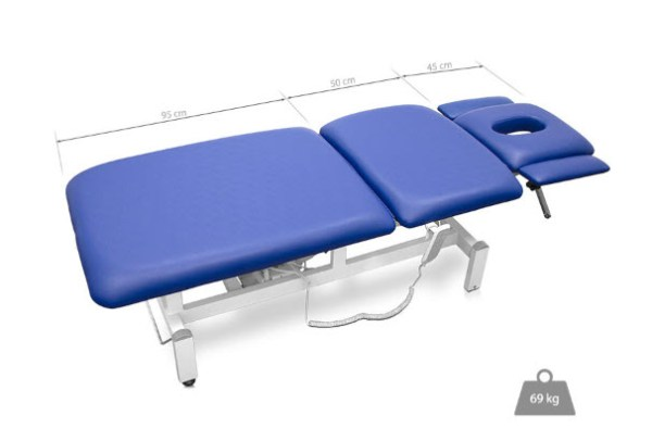 Three Sections Electric Treatment Table - Height Adjustable Armrests 3