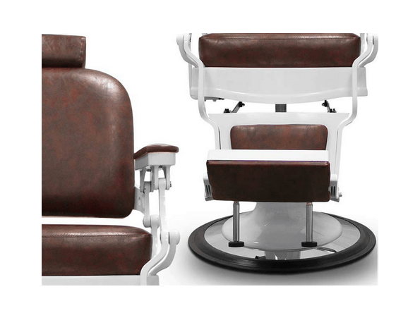 Chicago Brown Barber Chair 6